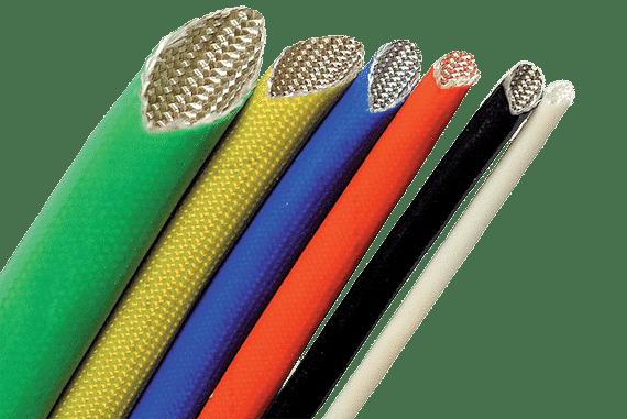 Braided Glass Fibre